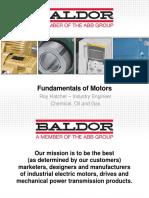 3 Fundementals of Motors IEEE Houston February 2015
