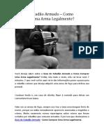 Guia do Cidadão Armado - Como Comprar Uma Arma Legalmente