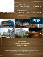 Urban Development Theory - Urban Development of Kuantan Pahang