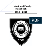 KIPP NYC College Prep Student and Family Handbook 2010-2011