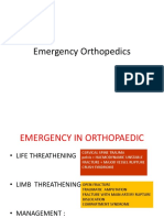 Emergency in Orthopedic