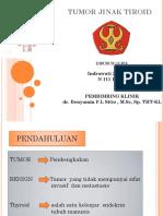 Tumor Jinak Tiroid