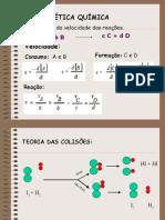 Química RG PPT - Cinética Química
