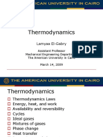 FE Exam Thermodynamics El-Gabry