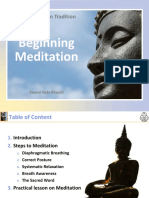 Beginning Mediation