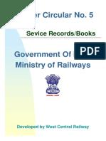 MC5.Service Books & Records