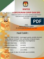 Bimtek Penyusunan Dphp Dan Dps 01032018 New