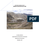 Estudio Geomecanico Huachocolpa Uno - 2017