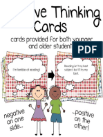 Positive Thinking Cards Preview