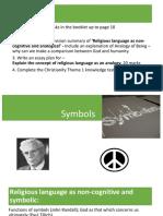10 Symbols Tillich