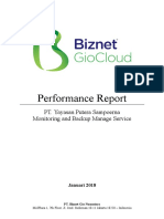 Report Cloud GIO Performance Putera Sampoerna2 -Januari 2018