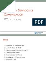Sistemas y Servicios de comunicación