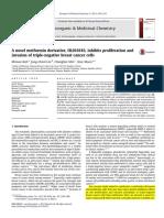 A Novel Metformin Derivative, HL010183, Inhibits Proliferation And