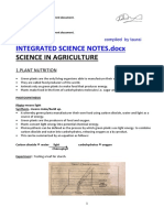 Integrated Science Notes