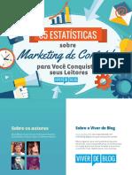 Viver de Blog 65 Estatisticas Marketing de Conteudo