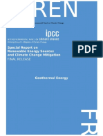 IPCC-Special Report on Renewable Energy Sources Climate Change Mitigation