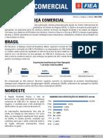 Fev - 18 - Balança Comercial - BR-AL -  CIN - Alagoas