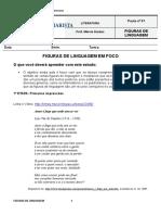 Pauta 01 - Figuras de Linguagem Em Foco