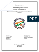 CT Case Analysis