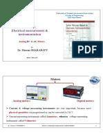 3- Analog DC & AC Meters