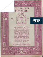 Rosicrucian Initiation (1935)