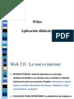 wikis aplicacion didactica