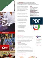 Peace Corps Fact Sheet 2018
