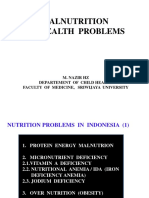 1malnutrition as Health Problem