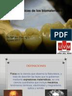 Propiedades Físicas Biomateriales Odontológicos