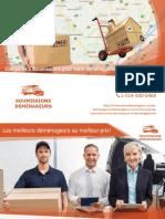 5 Soumissions pour Déménagement sur la Rive Nord (Montréal)
