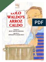 Lolo Waldo s Arrozcaldo