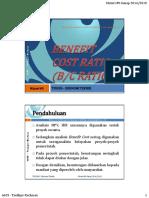 TIN205 9 Benefit Cost Ratio 2014 2