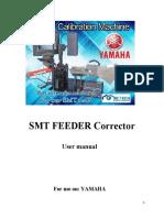Yamaha Feeder Calibration Machine