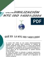 Sensibilizacion de Ntc Iso 140012004