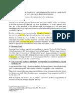 Doubts - Property Law M I II
