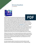 Aplikasi Kimia 2015 Chemdraw