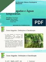 Áreas Alagadas e Águas Temporárias
