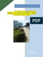 1. Instalacion de Rejas de Seguridad en La Cuadra 16 y 17 de La Av. Aviacion - Sector Edificios en La Urb. Tupac Amaru (1)