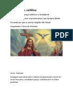 Apologética Católica Resumida 30 Páginas - 13-01-2018