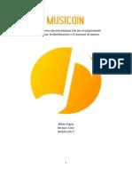 Musicoin White Paper Versione Italiana (ottobre 2017)