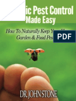 Organic Pest Control Made Easy - How to Naturally