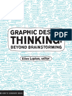 Graphic Design Thinking a Beyond Brainstorming