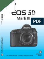 5d Mark III Manual