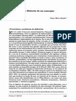 Presentismo, Historia de Un Concepto