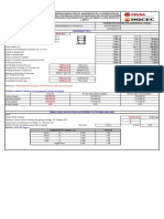 Calculation Sheet for Heat Exchangers Foundations