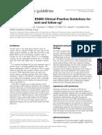 ESMO Guideline