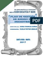 Plan de Gestión de Riesgos 36026