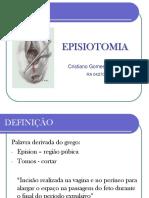 #Apresentação Episiotomia