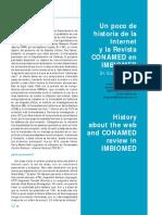 La historia de internet y una revista de medicina