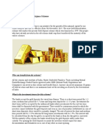 Gold Monetisation